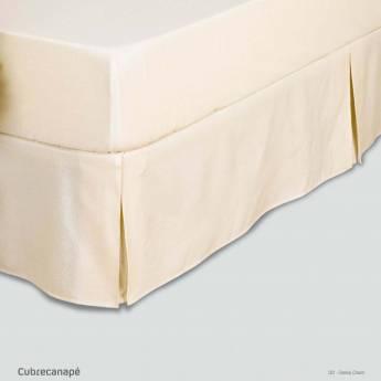 Cubre canapé rústico LISO FUELLES Estela