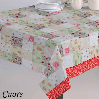 Mantel CUORE Purpura Home