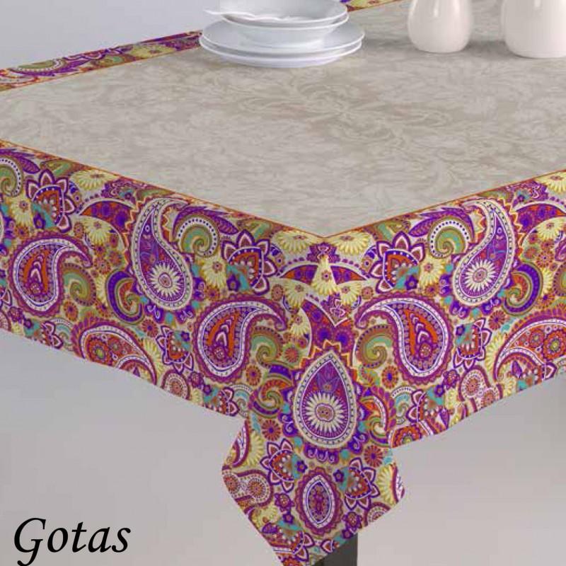 Mantel GOTAS Purpura Home