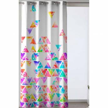 Cortina ollaos PIRAMIDE Purpura Home