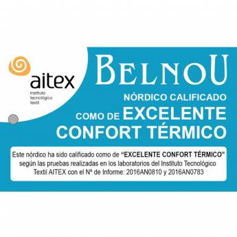 Relleno nórdico TACTO SEDA 400 Gr. Belnou