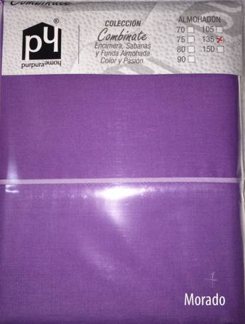 Sábana encimera COMBINATE 50/50 Purpura Home