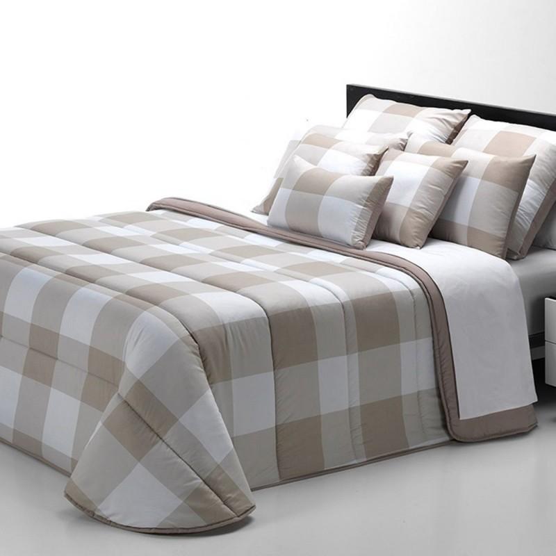 Edredón nórdico CUADROS Belnou cama