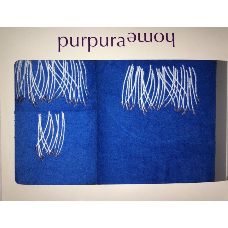 Juego toallas ESTATICE Purpura Home