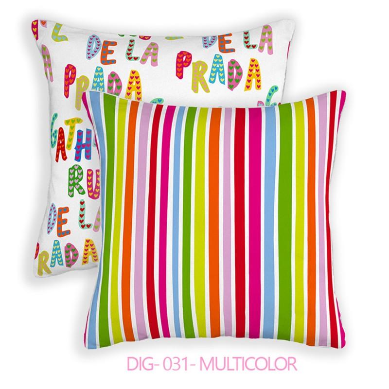 Agatha Ruiz De La Prada Cojines.Funda Cojin Dig 031 Agatha Ruiz De La Prada