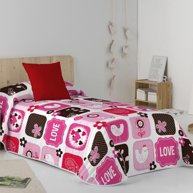 Colcha bouti LOVE&LOVE Purpura Home infantil