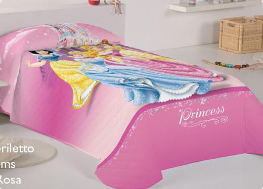 Ropa de cama motivos princesas sedalinne blog - Cama princesa nina ...