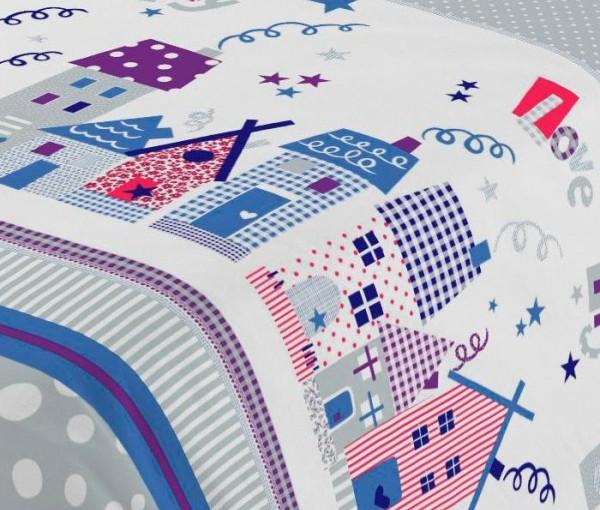 Colección ropa de cama infantil MY LOVE CITY Pierre Cardin ... 9bdcd24ad516