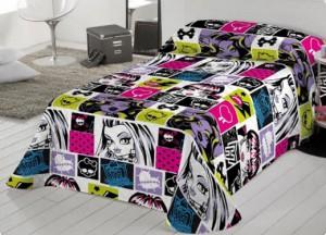 Prepara la cama con ropa juvenil monster high sedalinne blog - Camas monster high ...