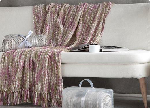Plaids para la cama o el sof decorativas sedalinne blog - Plaids para sofas ...