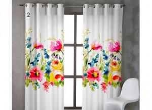 cortina flores juvenil