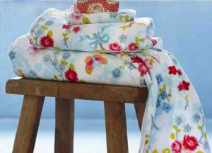 toallas de flores