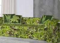 complementos hogar en verde