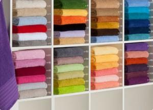 toallas lisas multicolores