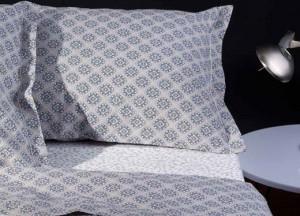 sábanas de percal estampadas