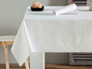 mantel blanco resinado