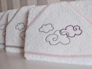 capas de baño bebe