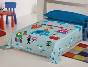 sábanas infantiles payasospital