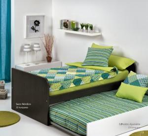 ropa de cama para literas y camas nido
