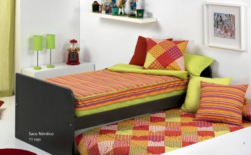 Qu ropa de cama es ideal para una litera o cama nido - Que es una cama nido ...