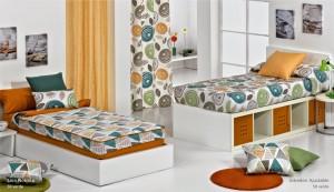 sacos nordicos y ajustables para camas nido