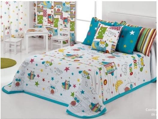¡Llega el frío! Colchas infantiles, sábanas y otros textiles para su cama en otoño