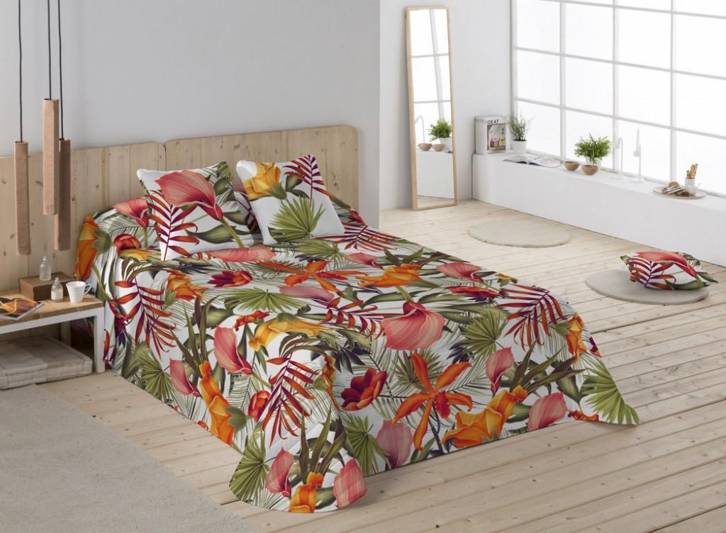 Colchas cama matrimonio modernas colcha bouti izan gris - Colchas de cama modernas ...