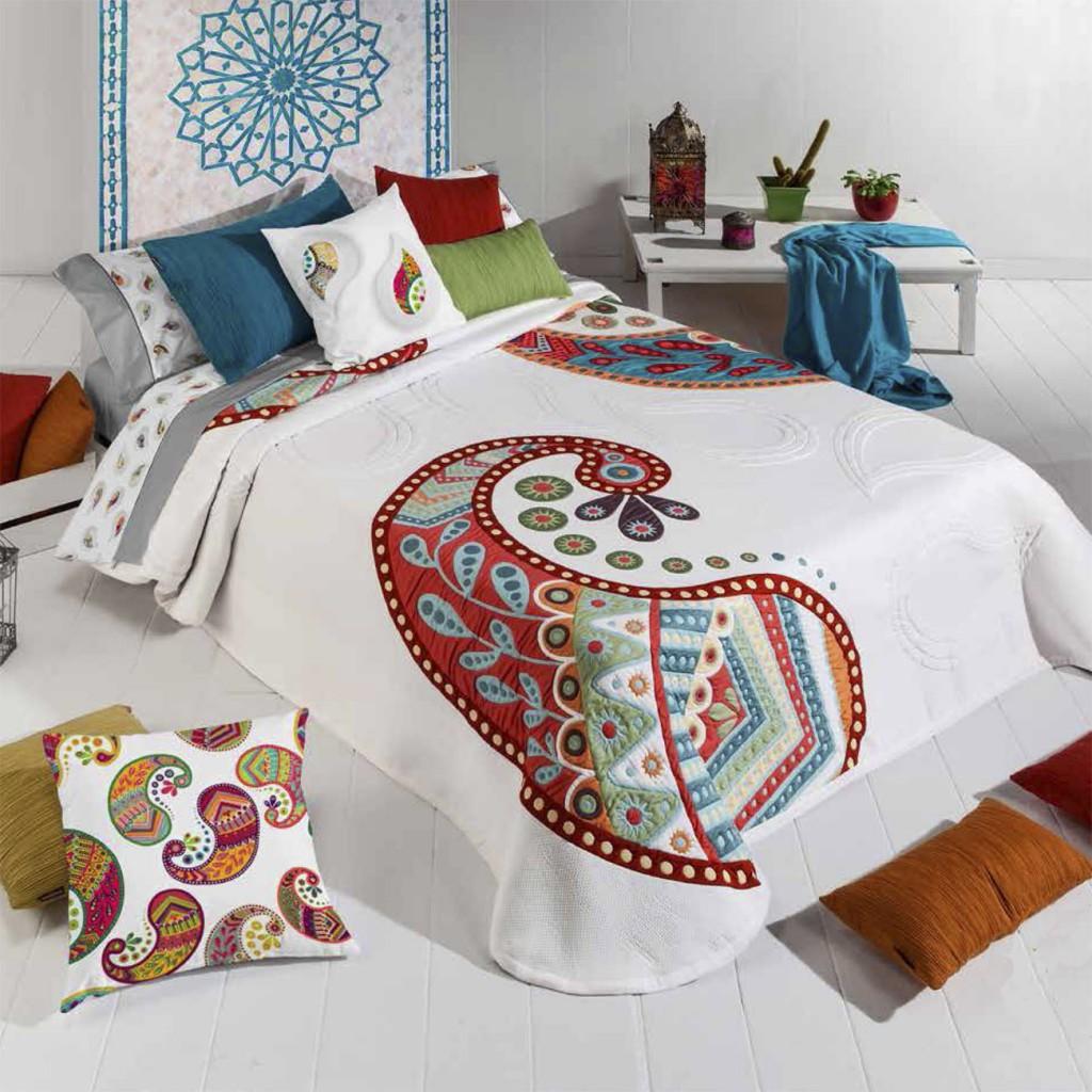 Colchas manterol renueva tu cama en verano sedalinne blog - Colchas para camas de 150 ...