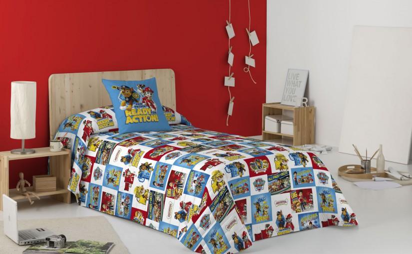 ¿Tienes un peque en casa? No te pierdas nuestro juego de sábanas de la Patrulla Canina