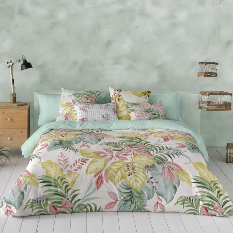 Funda nordica Laguna. En Sedalinne encontrarás más modelos de fundas para camas con flores.