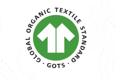 Sello organico de los tejidos de las fundas nordicas que encontrarás en Sedalinne