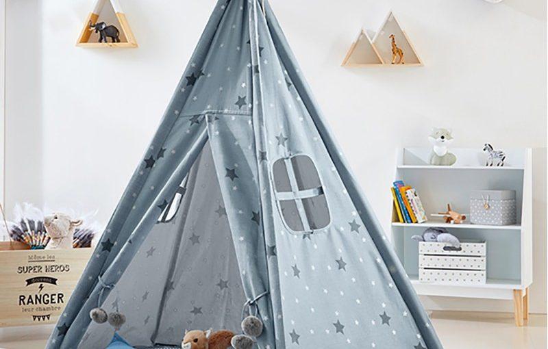 4 tipis y cabañas para bebé con las que crear un espacio único
