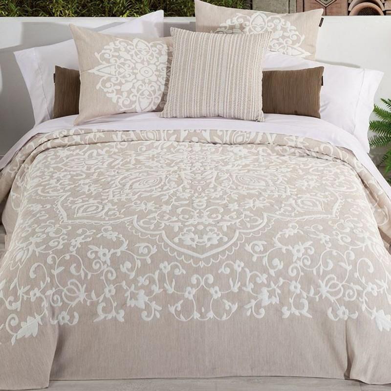 Cubre cama Feng Shui con estilo Boho